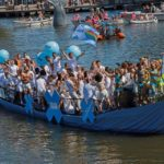The Iran Boat in Amsterdam Canal Pride 2017